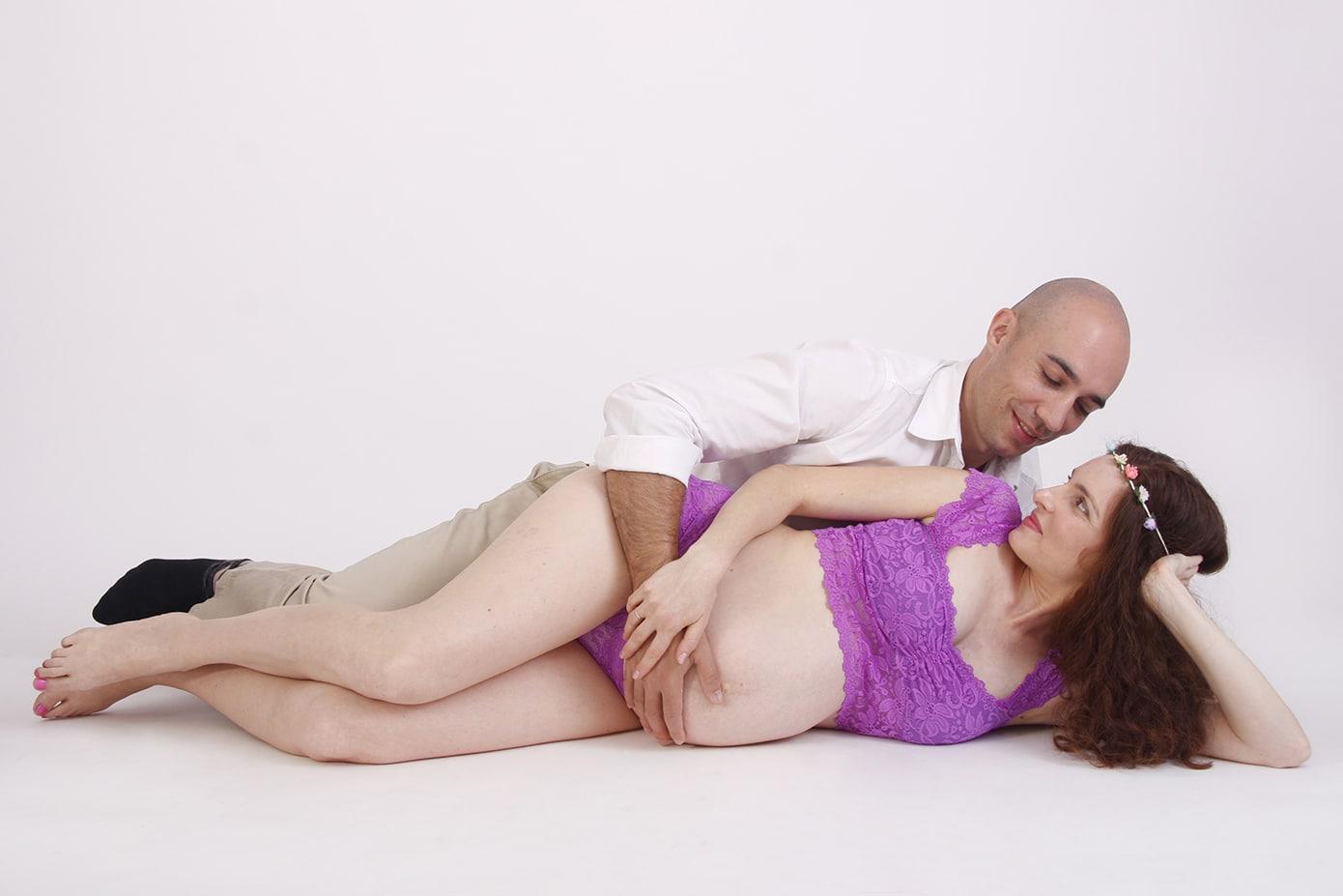 צילומי היריון משפחת קויפמן סטודיו גיל לוין (3)
