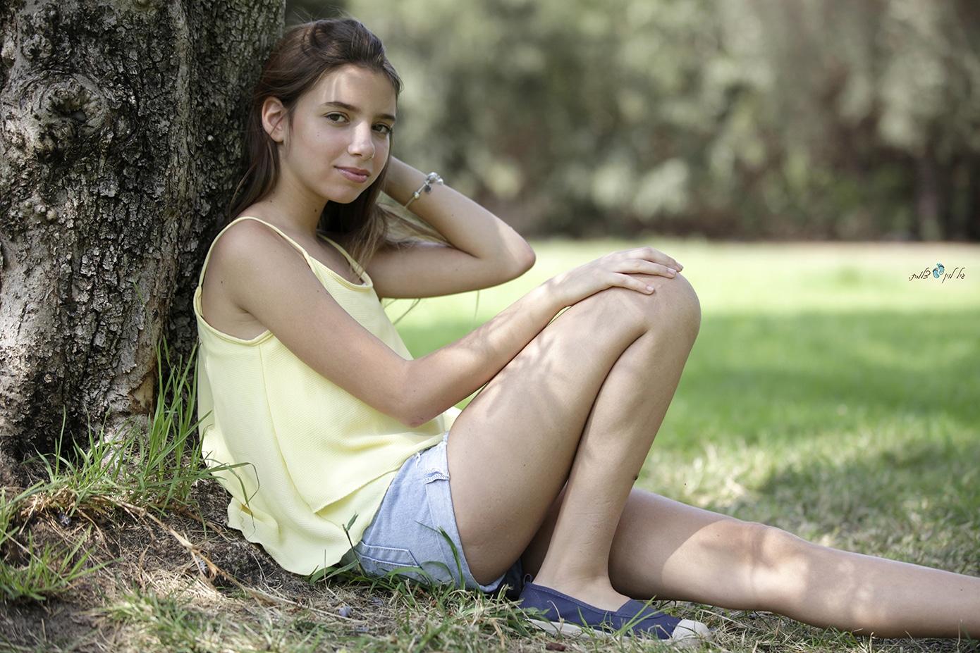 עידית וליאור קמפינסקי - בוק בת מצווה לליאור - סטודיו גיל לוין (14)