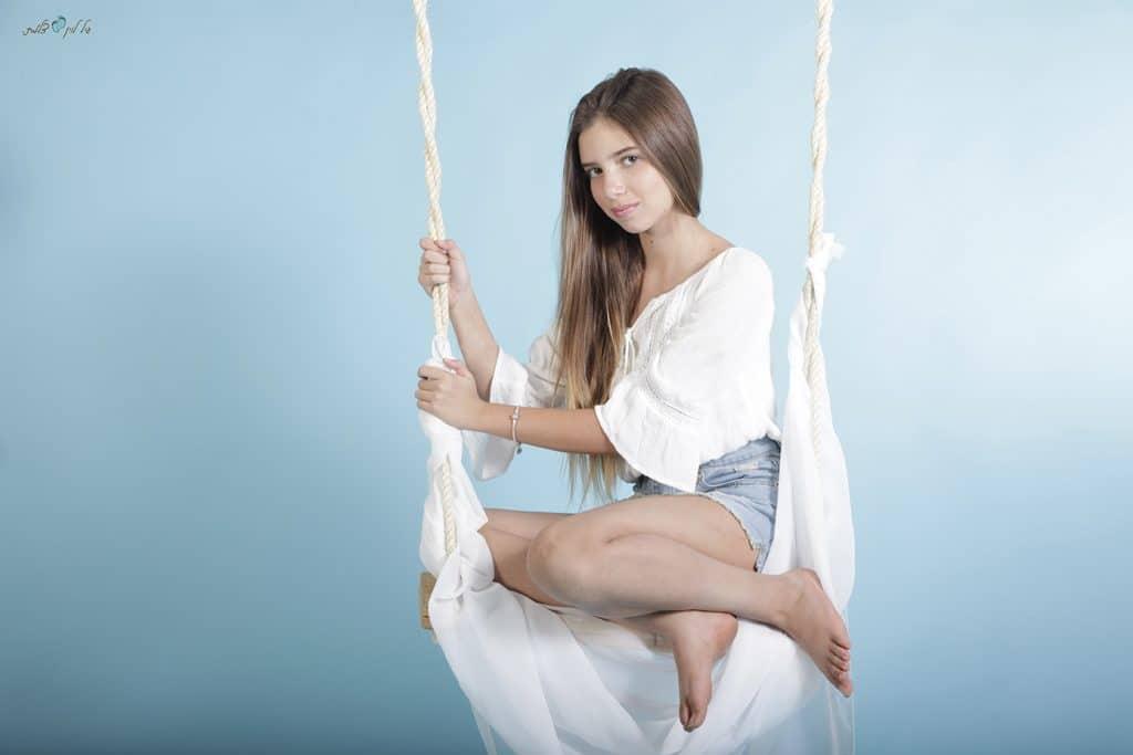 עידית וליאור קמפינסקי - בוק בת מצווה לליאור - סטודיו גיל לוין (2)