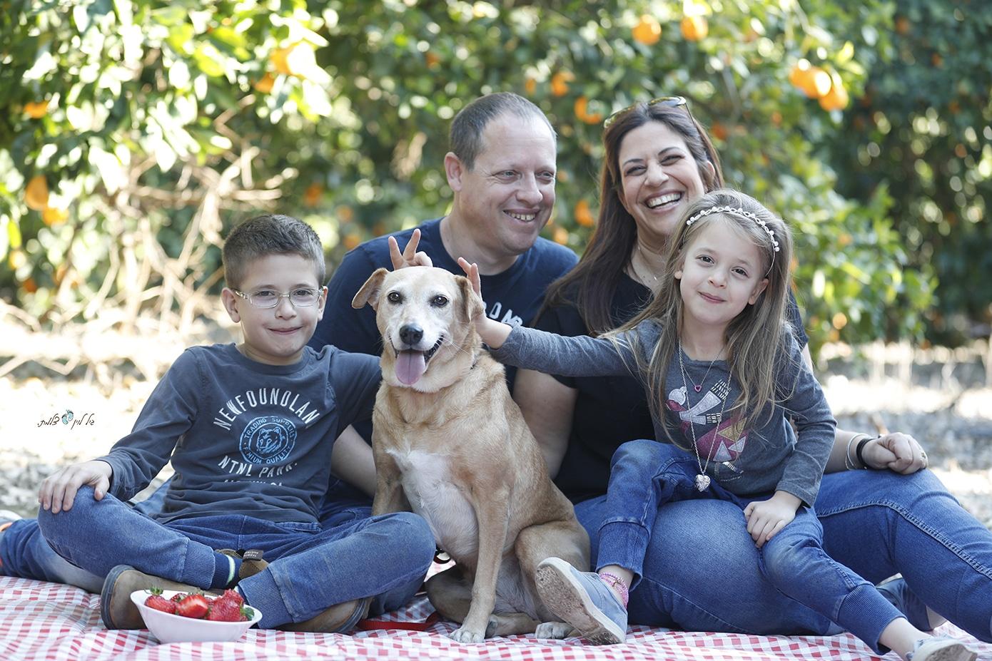 צילומי משפחה סטודיו גיל לוין - משפחת מלומד (1)