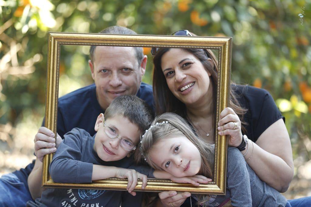צילומי משפחה סטודיו גיל לוין - משפחת מלומד (4)