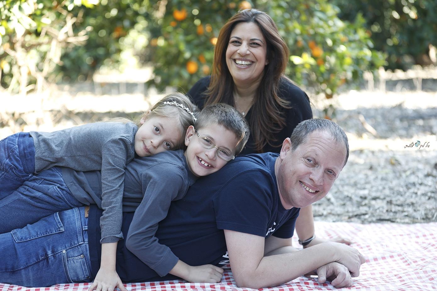 צילומי משפחה סטודיו גיל לוין - משפחת מלומד (5)