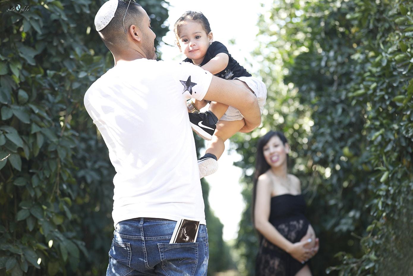 משפחת אהרון- צילומי היריון- סטודיו גיל לוין (5)