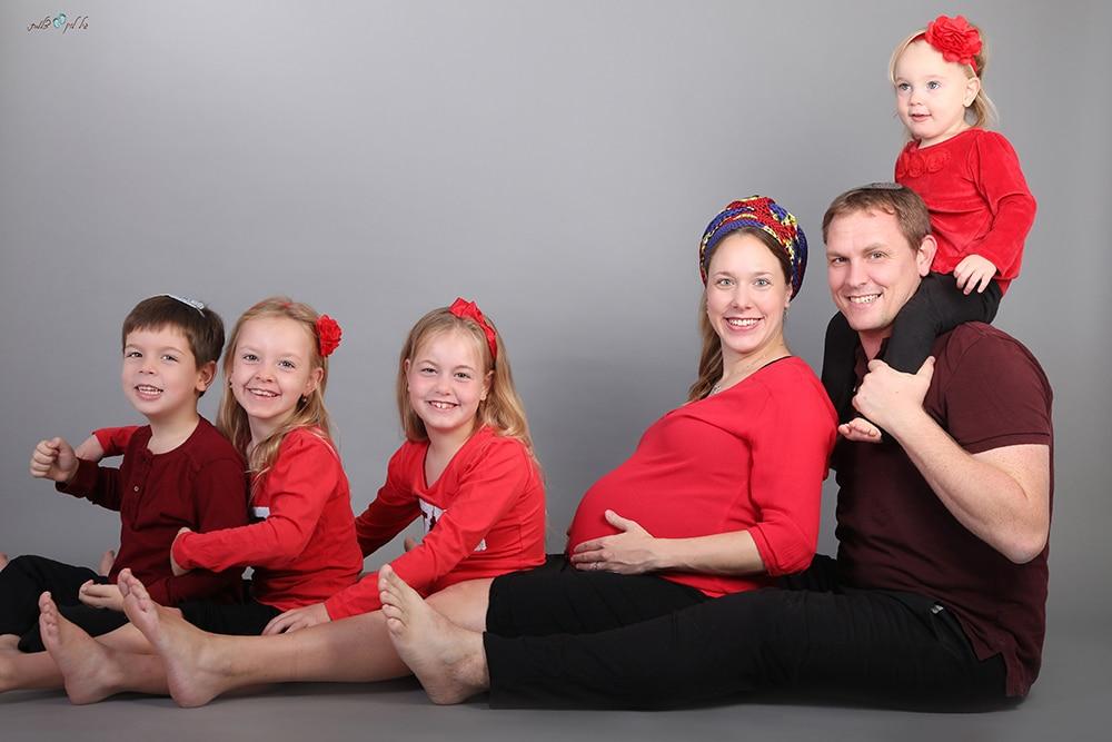 צילומי משפחה סטודיו גיל לוין