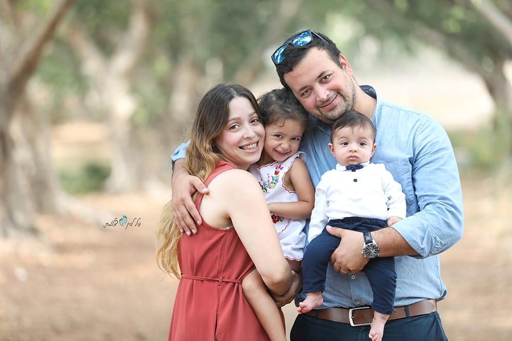 משפחת צברי- צילומי משפחה